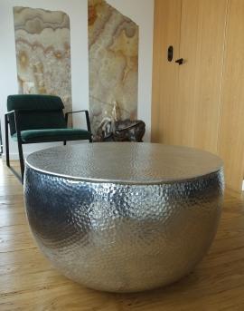 Stolik kawowy z metalu